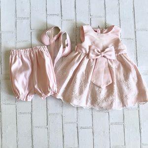 Princess faith pink dress | size 6-9mo. Brand new